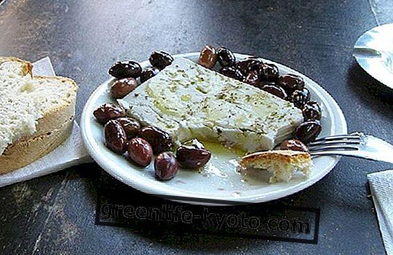 ग्रीक भोजन, सुविधाएँ और मुख्य खाद्य पदार्थ