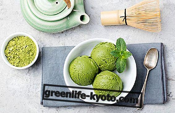 Yeşil çay dondurması tarifi