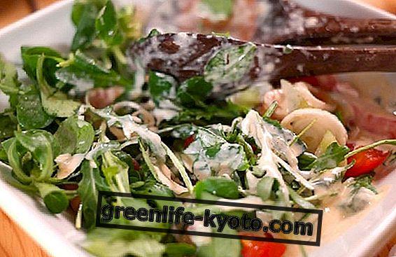 Валеријана у салати: погодности и рецепти