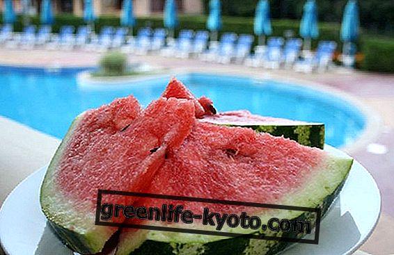 Fructe de top din august: pepene verde