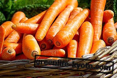 Morkos: savybės, maistinės vertės, kalorijos
