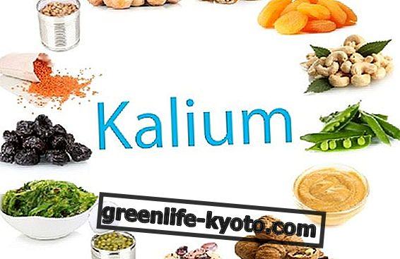 Kalium, puutteen ja ylimäärän vaikutukset
