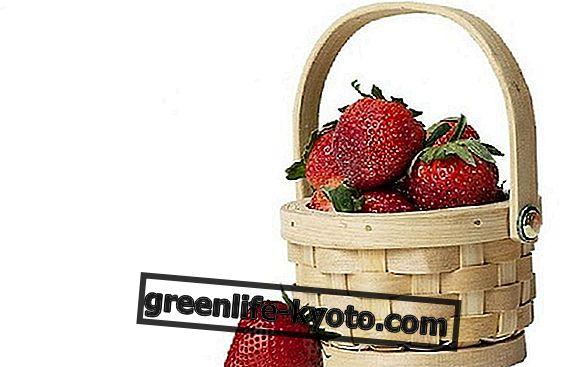 Fruits et légumes dans le panier d'avril