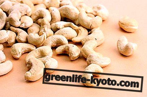 Kešu ořechy: vlastnosti, nutriční hodnoty, kalorií