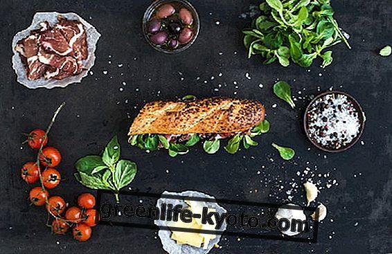 Makanan yang dipisahkan: contoh dan resipi