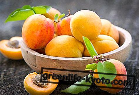 Aprikoosit: ominaisuudet, ravintoarvot, kalorit
