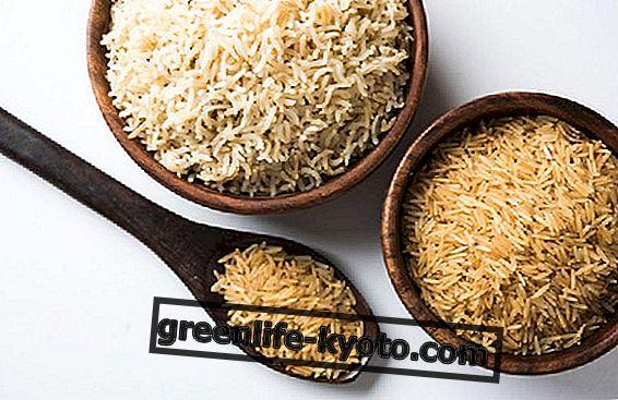 Integrēti basmati rīsi, īpašības un priekšrocības
