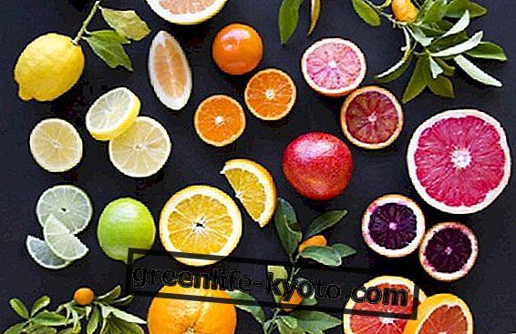 Skillnaderna mellan citrusfrukter, druvor och bär