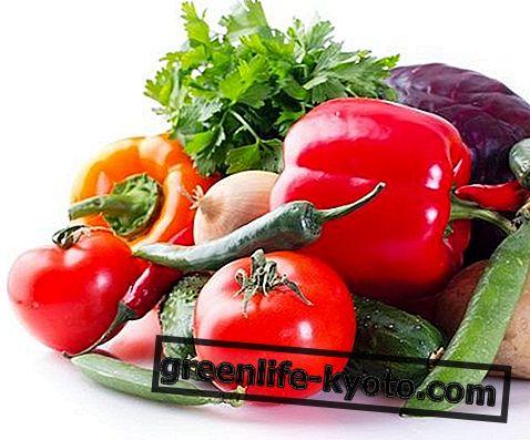 Sebzeler: liste, özellikler, besin değerleri
