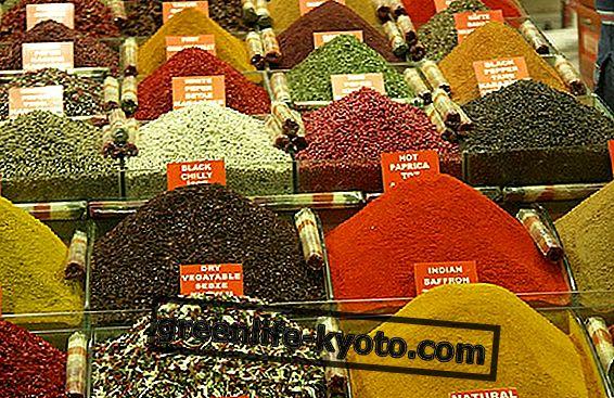 Kryddor i ayurvedisk mat