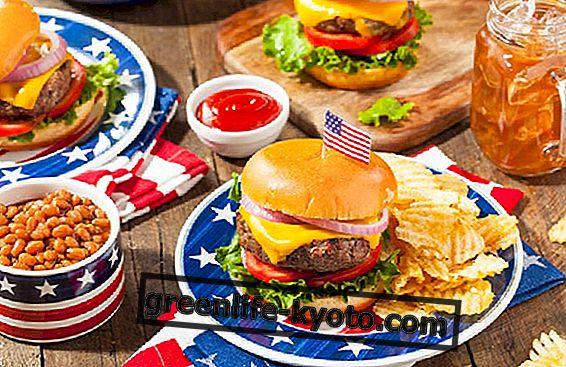 Cocina estadounidense: características y alimentos principales.