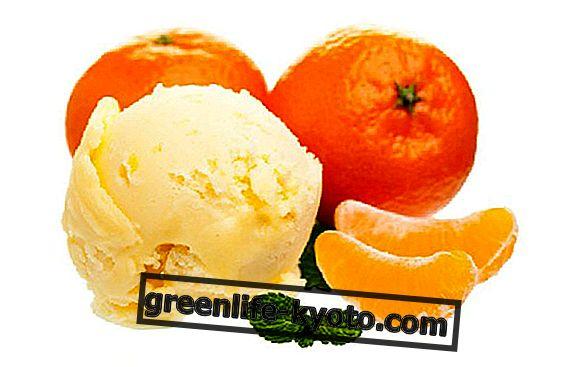 Mandarin sorbet, garšīga ziemas recepte