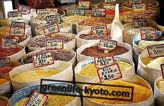 Pelbagai jenis beras