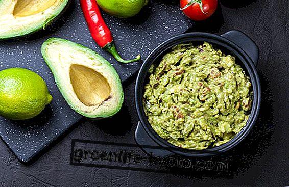 Guacamole, tikras avokado padažas