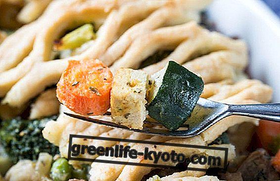 Tofu, courgette og gulerødder: Opskrifter skal naturligvis forblive i form