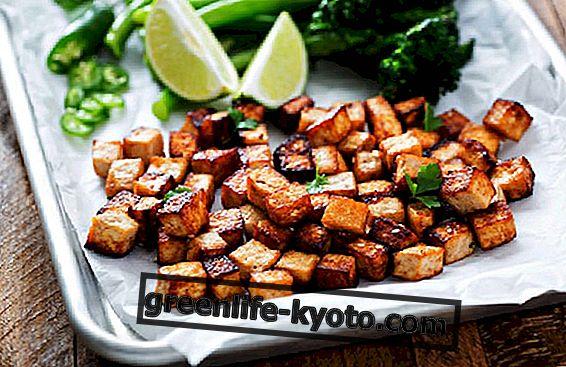 Retseptid suitsutatud tofuga