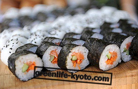 Sushi veggen