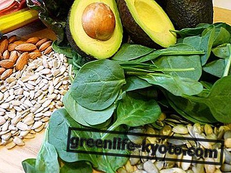 Pokarmy zawierające witaminę E