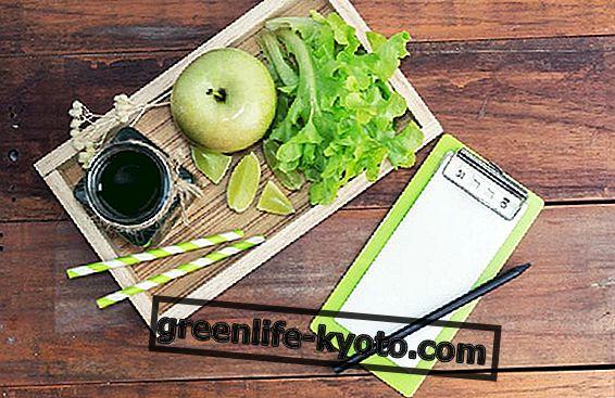 Dieta purificadora: ejemplo y recetas.