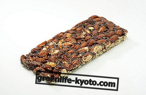 Almonds, the homemade crunchy