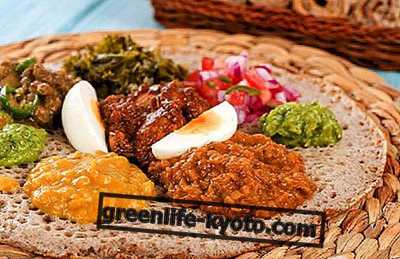 Etiopijos virtuvė: savybės ir pagrindiniai maisto produktai