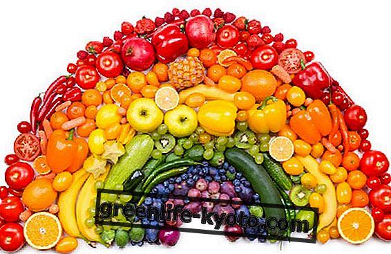 De eigenschappen van groenten en fruit op basis van kleuren