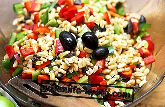 La ensalada con kamut integral: las recetas.