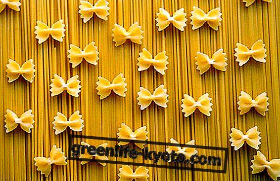 Pasta, den grunnleggende maten til Middelhavet diett