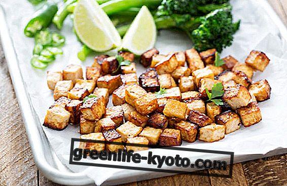 Як приготувати тофу на сковороді