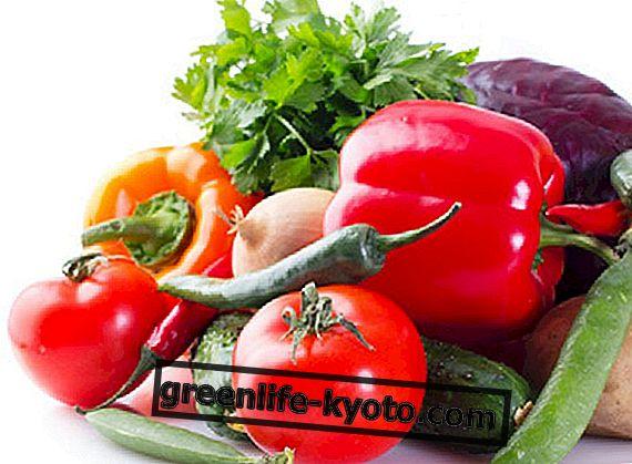 Júl ovocie a zelenina