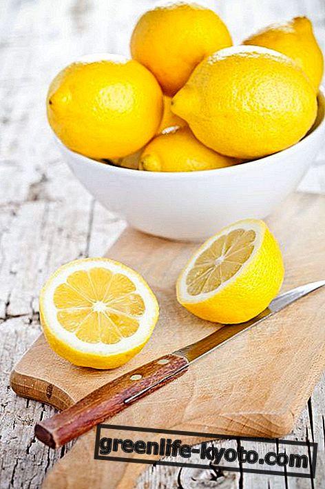 Limones: propiedades, valores nutricionales, calorías.