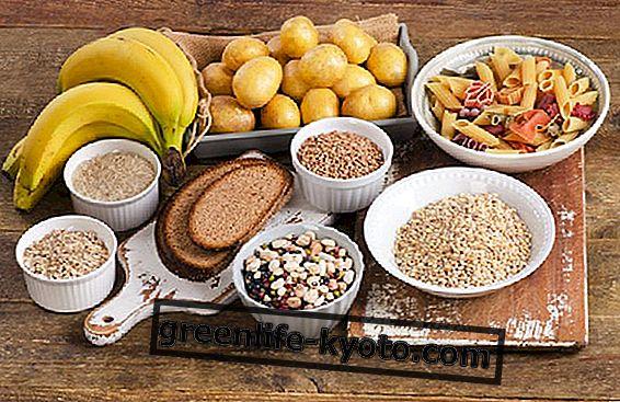 Sammenligning af stivelsesholdige fødevarer