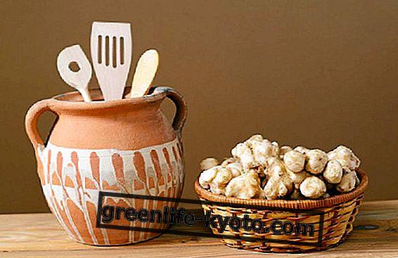 Topinambur, jak to vařit ve zdravých receptech