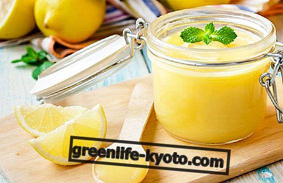 Lemon curd, рецептата без масло или яйца