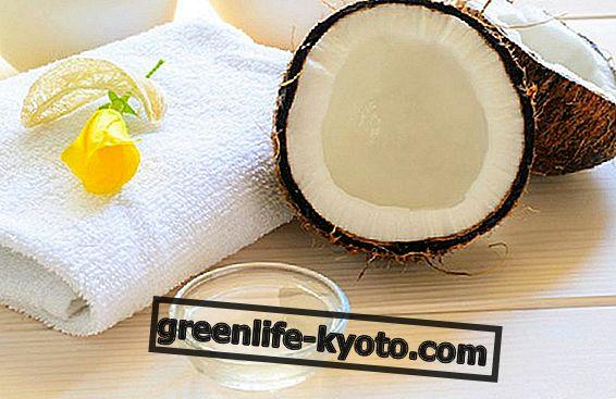Kokosriekstu eļļa: izmanto ādai