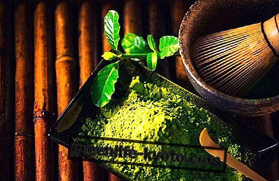 Té Matcha, una mina de antioxidantes.