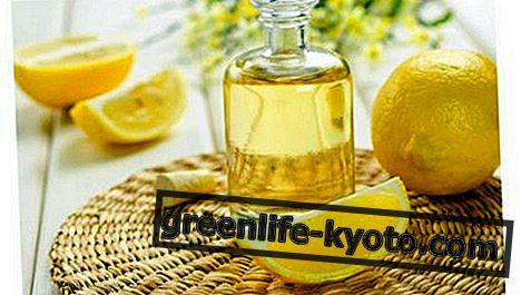 Las propiedades del aceite de limón.