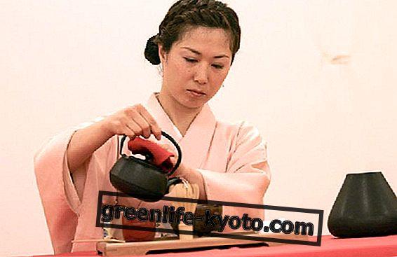 जापानी चाय समारोह
