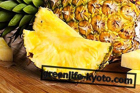 Ananasai: savybės, naudojimas, kontraindikacijos