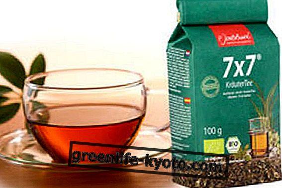 7x7, el té de hierbas alcalinizante.