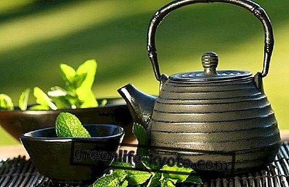 Čaj podľa teórie 5 prvkov