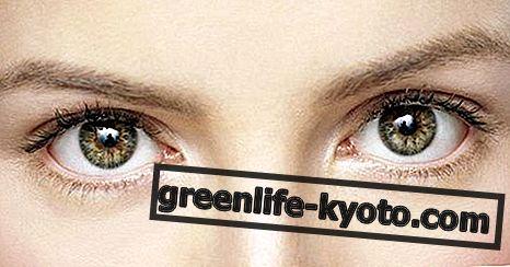 Silmät, homeopaattiset luonnolliset korjaustoimenpiteet