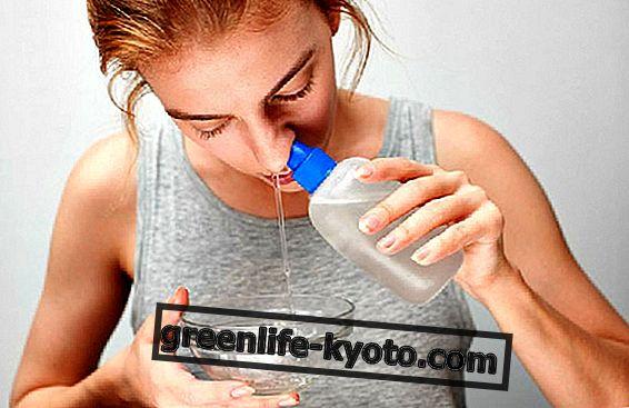 鼻腔洗浄の方法