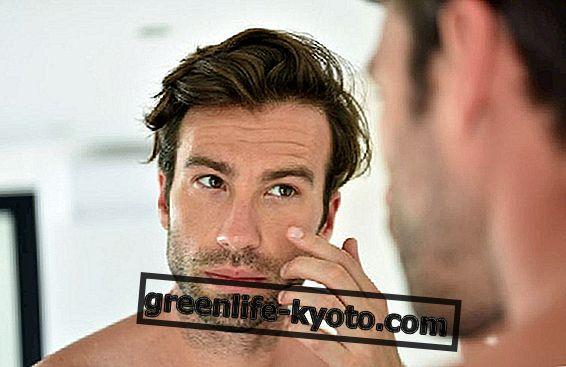 Směsi éterických olejů pro mastnou pokožku obličeje