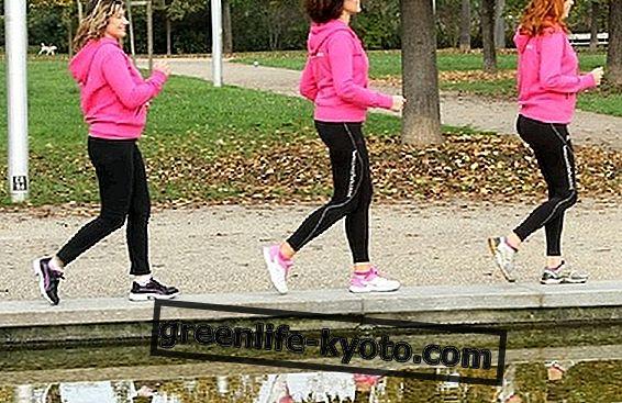 Beneficios de caminar y caminar bien