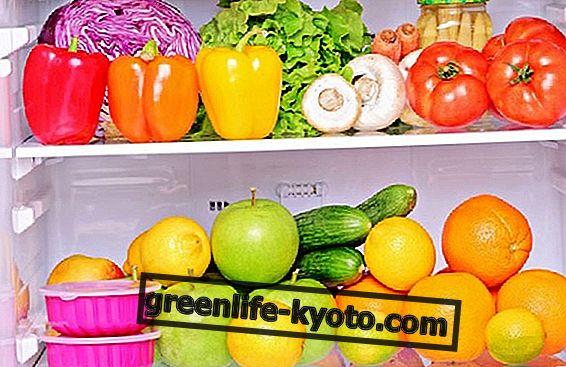 Como conservar melhor a fruta e os vegetais