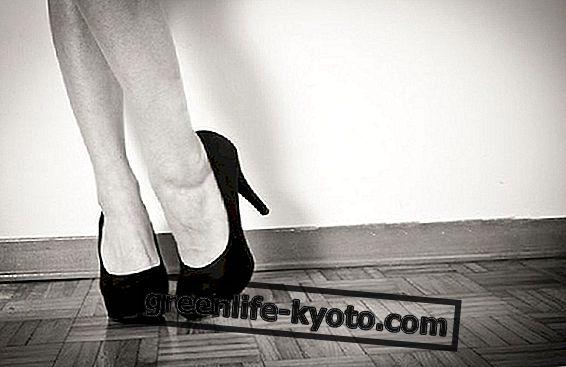 Sepatu dan postur: berapa banyak tumit untuk dipakai?