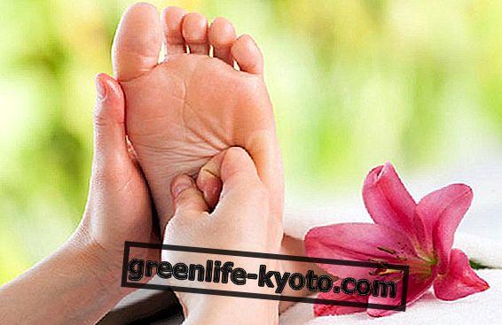 Pėdos refleksinės zonos: blužnis