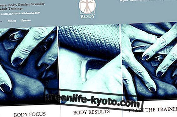 Bodyproject.eu: identita tela