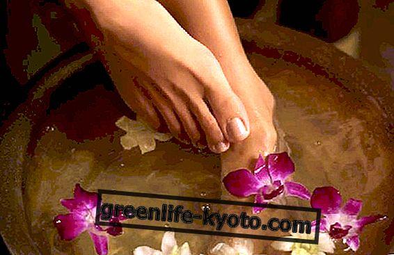 Το φυσικό λουτρό ποδιών